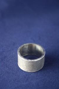 Ring Silber breit