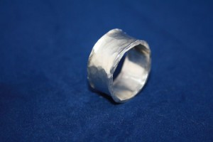 "Ring Silber ""Wellen/ Wave"""
