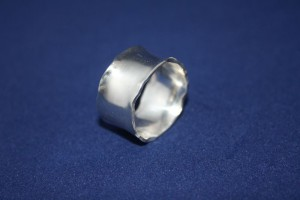 "Ring Silber"" Zarte Wellen/ Soft Waves"""