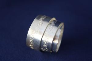 Ring Silber Wickelring