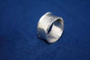 "Ring Silber ""Wellen/ Wave"""