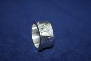 Ring Silber Köln Skyline