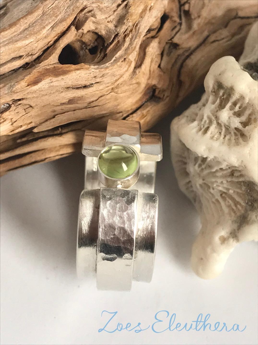 Ring Silber Edelstein Peridot