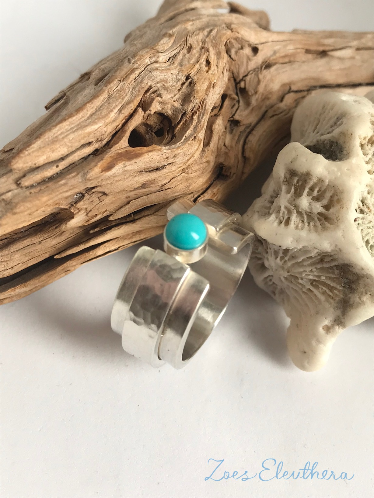 Ring Silver Gemstone Turquoise Ring no Ring