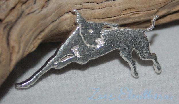 Anhänger Silber Hund Motiv nach Photo eigenes Tier Motiv individuell