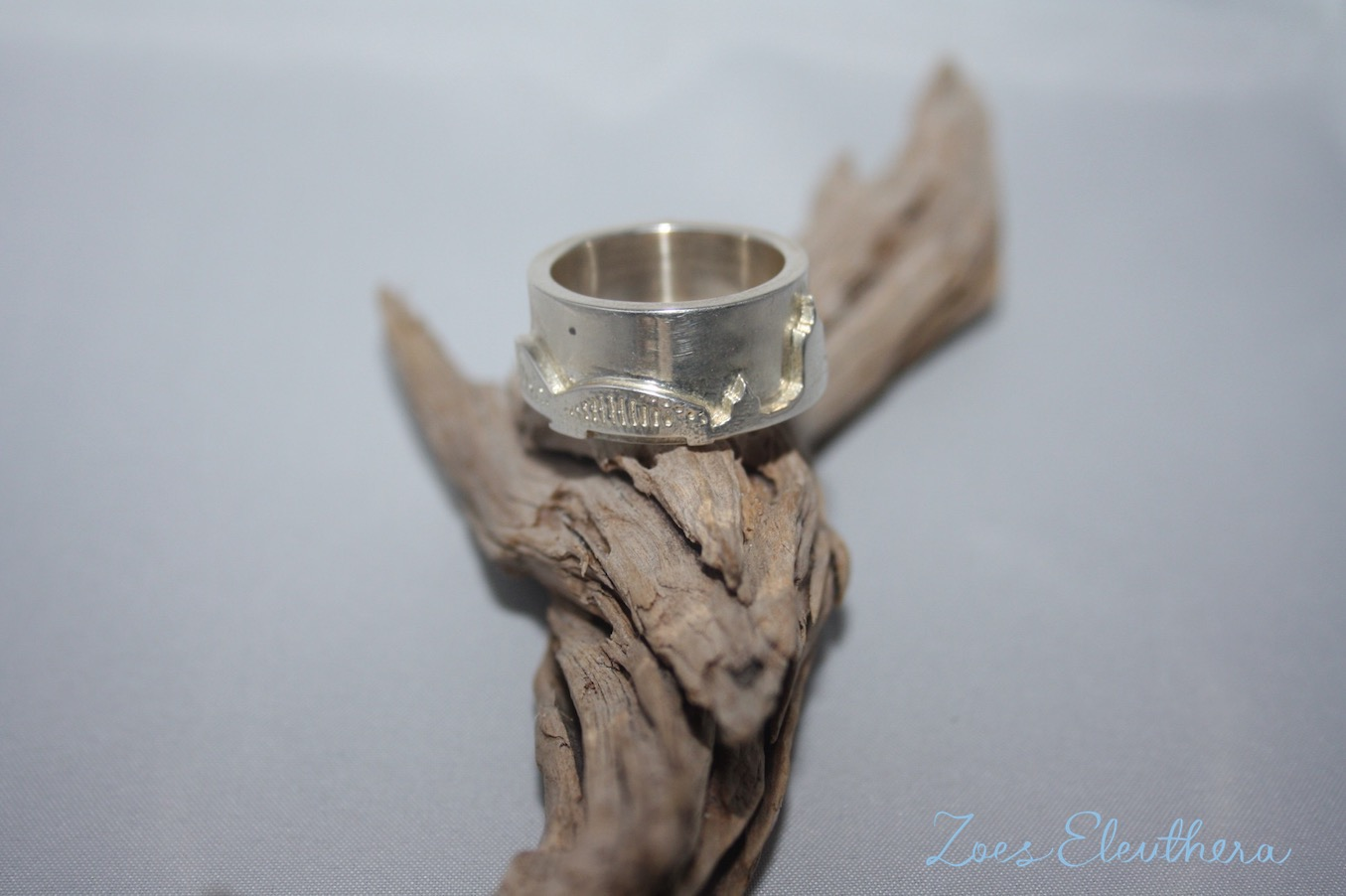 Ring Silber Skyline Stadt Stadtring Text individuell