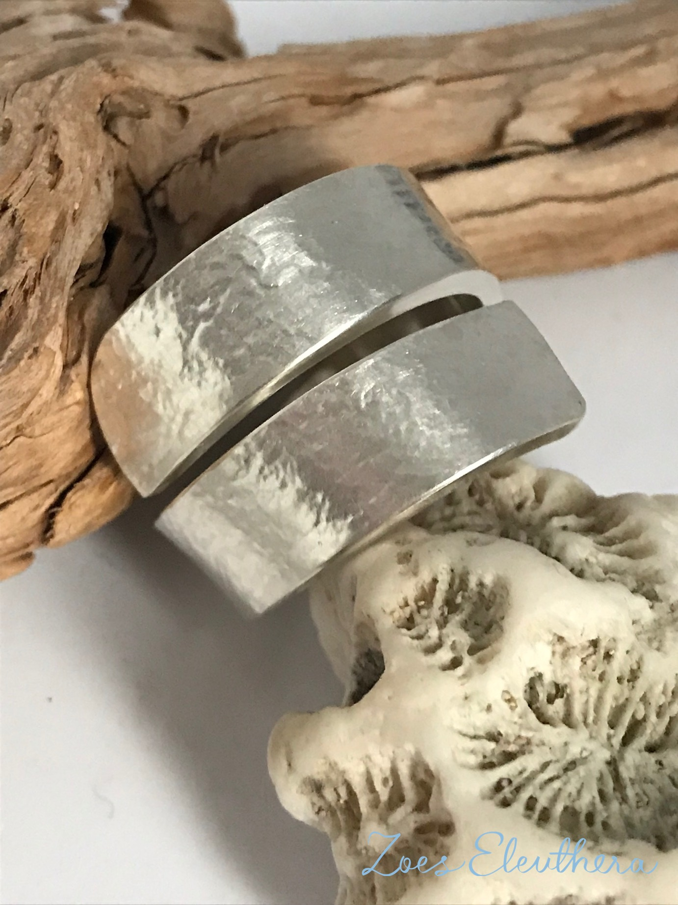 Ring Silver Wave Structure Strong