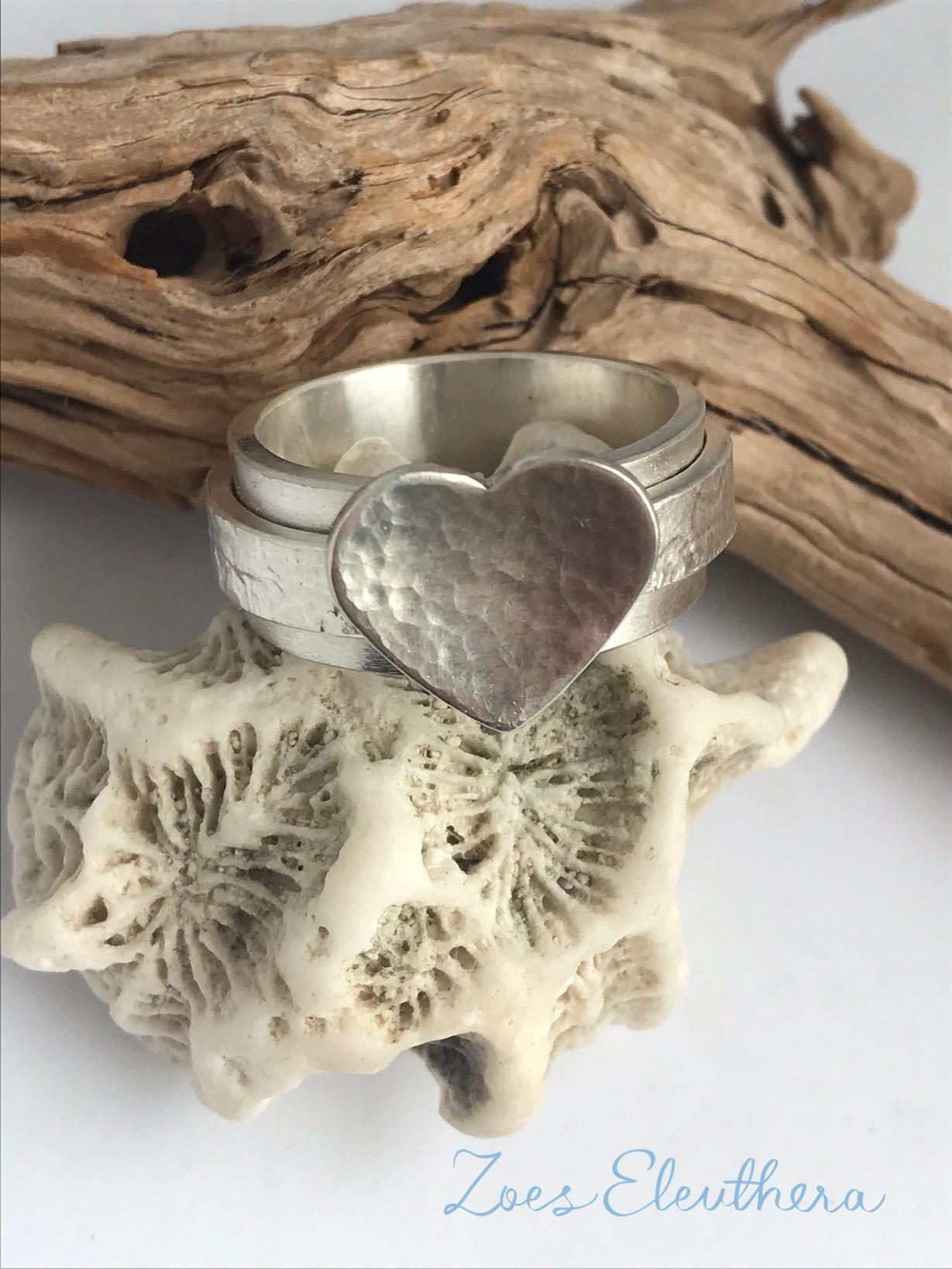 Ring Silber Herz Ringnoring RnR