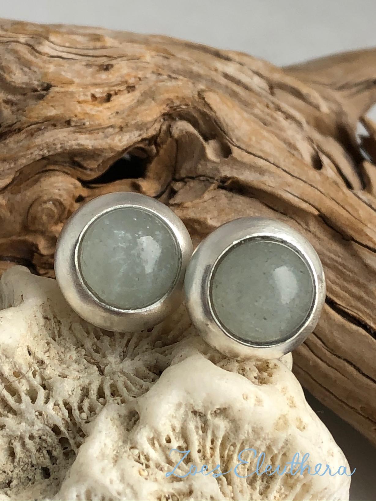Ohrringe Silber Aquamarin